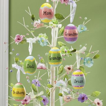 Too cute!! I wonder if they make a tree big enough for all of the eggs needed for my family! lol