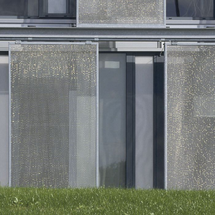 61 best sun portection with architectural mesh images on pinterest metal trellis sun. Black Bedroom Furniture Sets. Home Design Ideas
