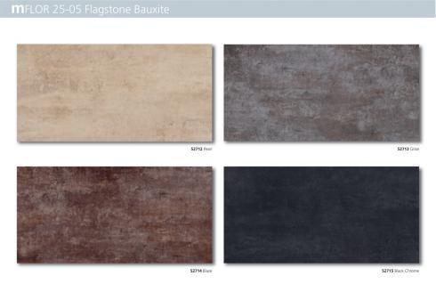 PVC tegels mFLOR serie 25-05 Flagstone Bauxite
