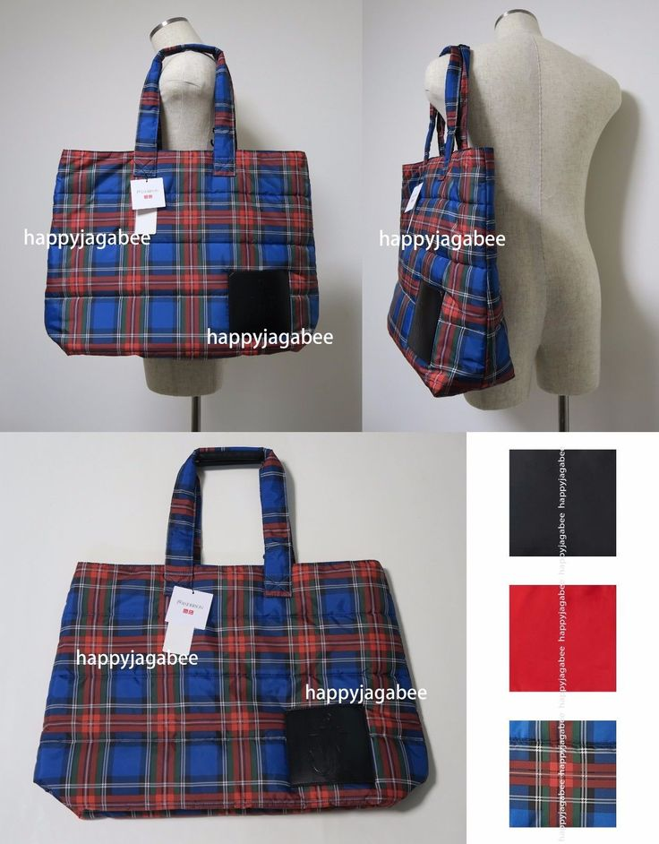 Uniqlo J.W.Anderson Tote Bag Padded 3 Colors Japan 401987