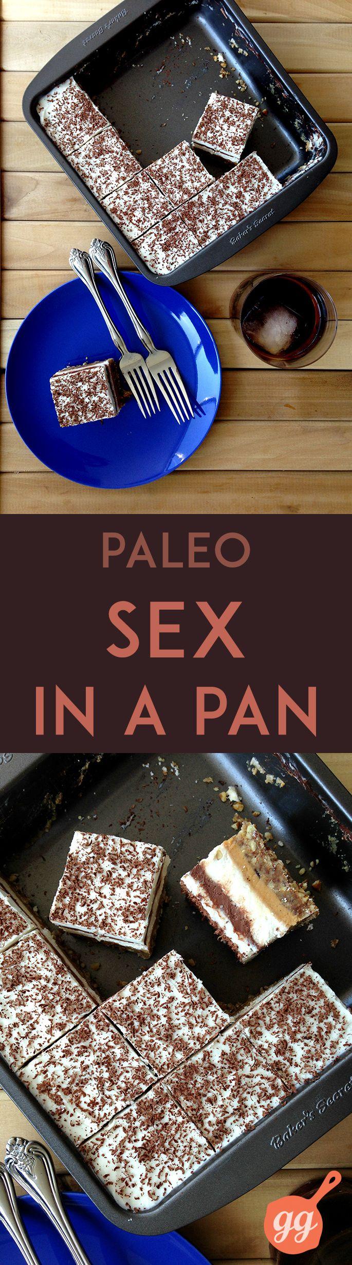 ♥ Paleo Sex in a Pan ♥ GrokGrub.com #paleo #vegan #raw