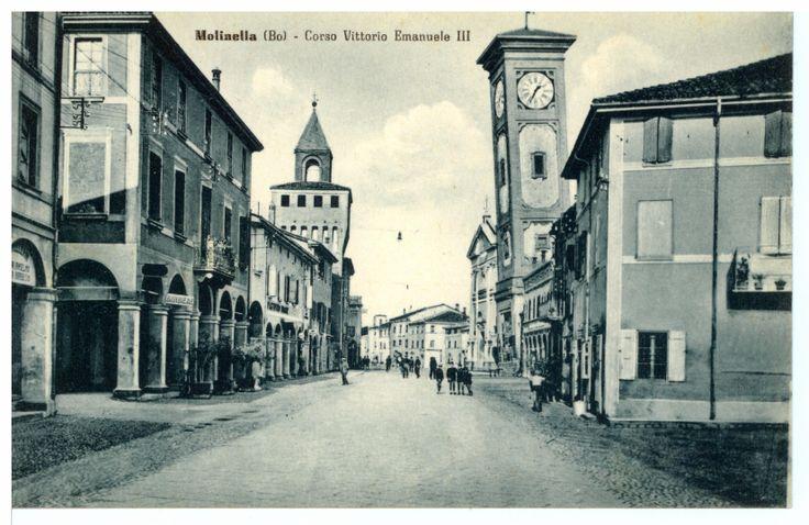 Molinella, Anni '30, Corso Vittorio Emanuele II