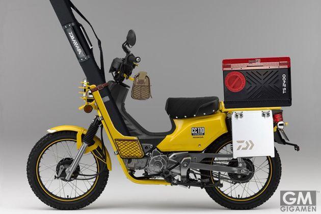 釣りキチ必見!フィッシングのために開発されたバイク!