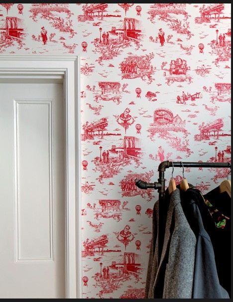 brooklyn wallpaper from flavor paper (mike d's house again