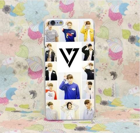 SEVENTEEN Korean Boy Band Cute Pose Cover iPhone 5 6 7 Plus  #SEVENTEEN #Korean #Boy #Band #Cute #Pose #Cover #iPhone5 #6 #7Plus