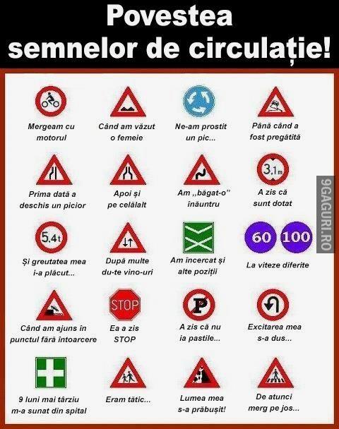 Adevărata poveste a semnelor!   Link Postare ➡ http://9gaguri.ro/media/adevarata-poveste-a-semnelor