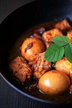 Just Try & Taste: Resep Semur Tahu Telur a la My Mom & Terima Kasih ...