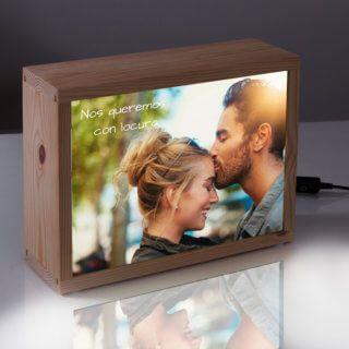 Kitkasa Lightbox Personalizable Con Foto Lampu Bingkai