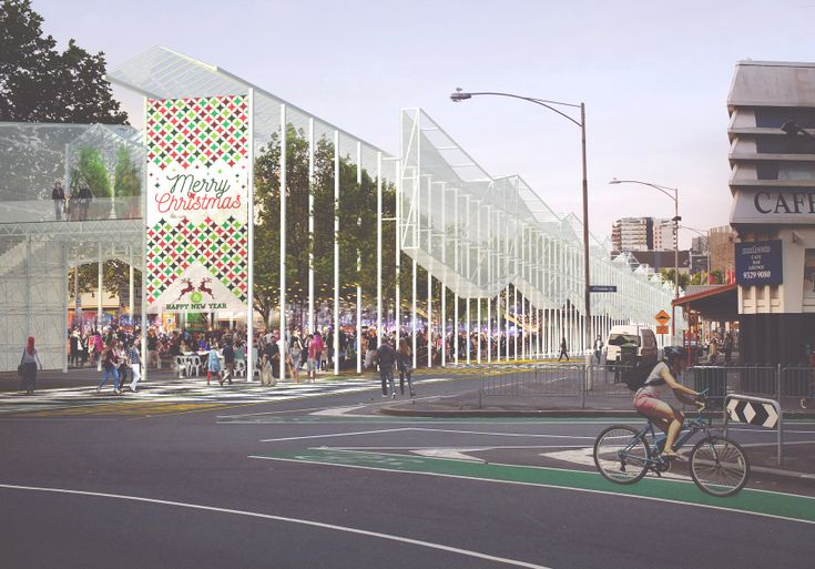 A Huge, New, Elevated Greenhouse for Queen Victoria Market