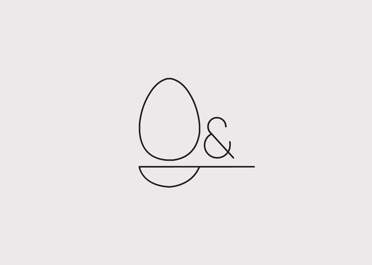 We love this simple branding - powerful & clean: Confident egg & spoon cakes logo by Sophia Duhrin