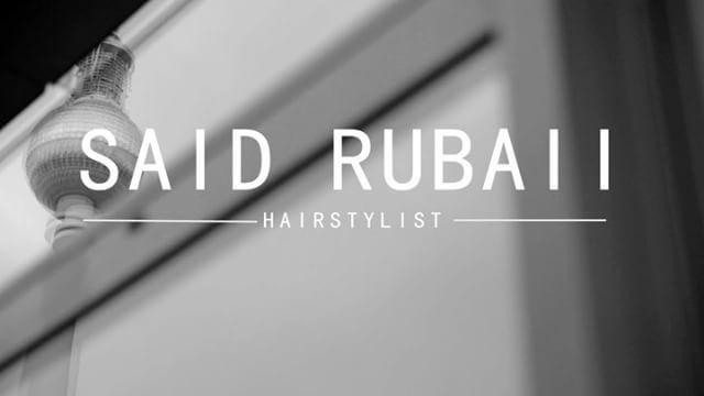 Opening Said Rubaii Hairstyling #hairstylist #hairdresser #berlin #berlinmitte #style #hair #fashionlover #artdirection #education #minimalism #videoftheday #