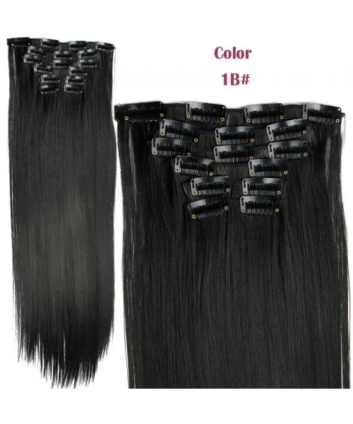 12 best hair extensions hair pieces images on pinterest hair 140g straight synthetic hair styling clip in hair extensions 6pcsset pmusecretfo Gallery