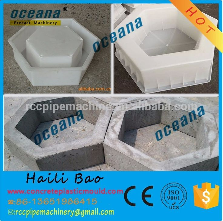 OEM Manufacturing interlocking bricks mould / grass brick mould / garden concrete paving molds