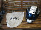 ♢⌂ Shoei Motorcycle Helmet Size L 7 3/8-7 1/2 With 2 Visors & Pouch http://ebay.to/2rCGGer