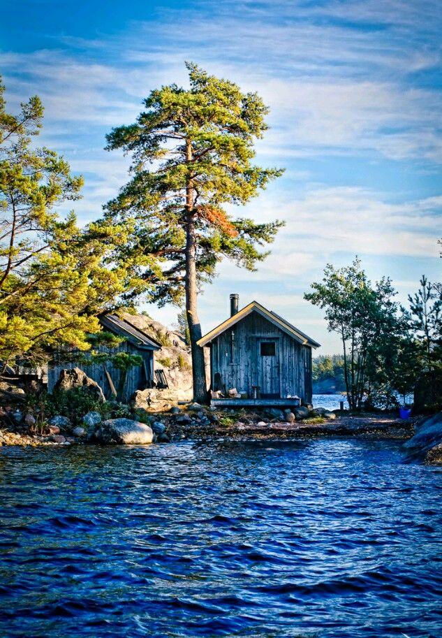 Sweden, cottage in the Archipelago