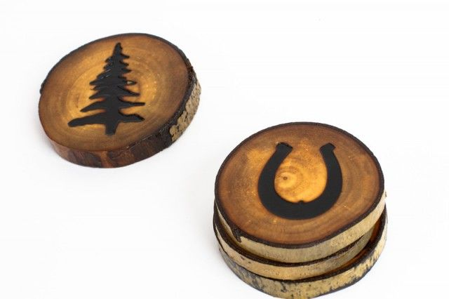 Giveaway: Set of 4 Timber Coasters from Rustic Roasters