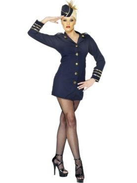 Adult Flight Attendant by Fancy Dress Ball