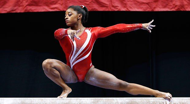 Don't you think that Simone Biles is so amazing I do she inspires me a lot