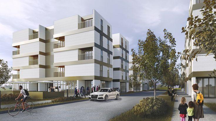 housing project in Puławy by ARKT Architekci