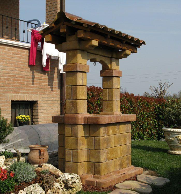 Pozzo Mod Country Finitura Old Stone Località Scandiano Reggio
