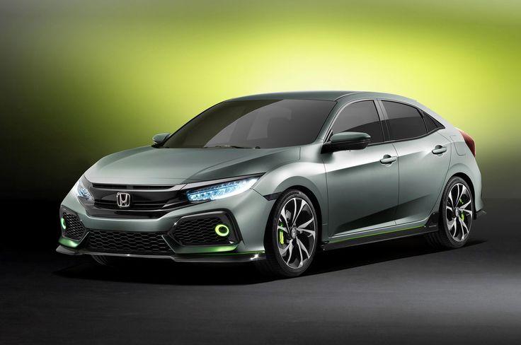 Honda Civic Hatchback Prototype front three quarters