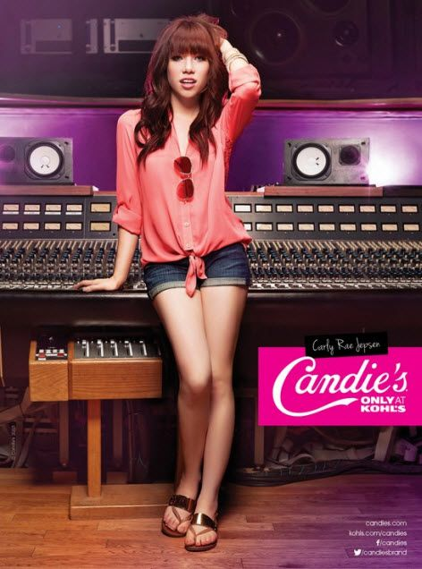 Carly Rae Jepsen stars in Candie's Fall 2013 Campaign