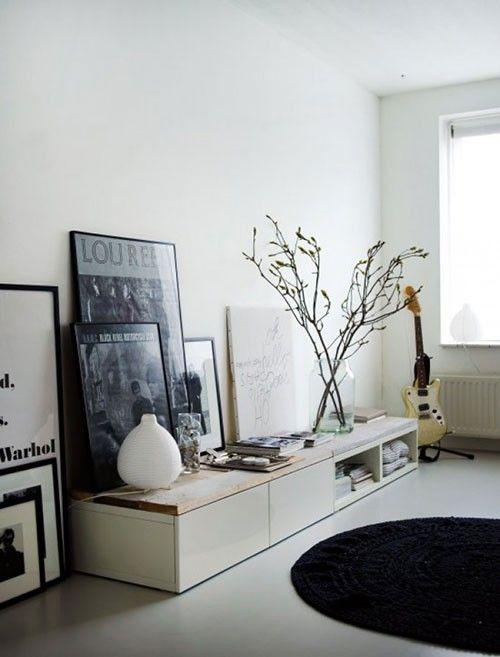 Meer dan 1000 idee n over witte kasten op pinterest metrotegels kasten en keukens - Witte keuken decoratie ...