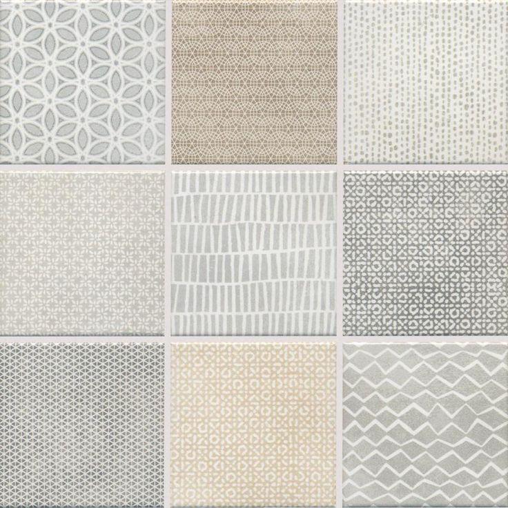 "Jasba Pattern Mosaik ""Mesh"" natur-mix 10×10 cm"
