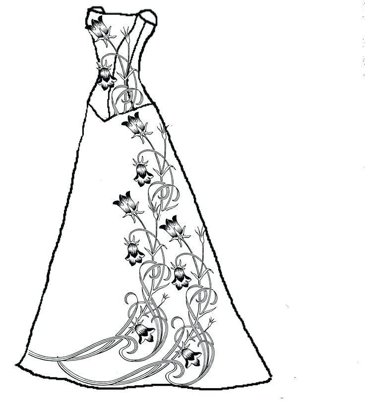 Wedding Dresses Coloring Pages Love Page Barbie Dress Lovely Of Wedding Coloring Pages Stamp Dress Coloring Pages