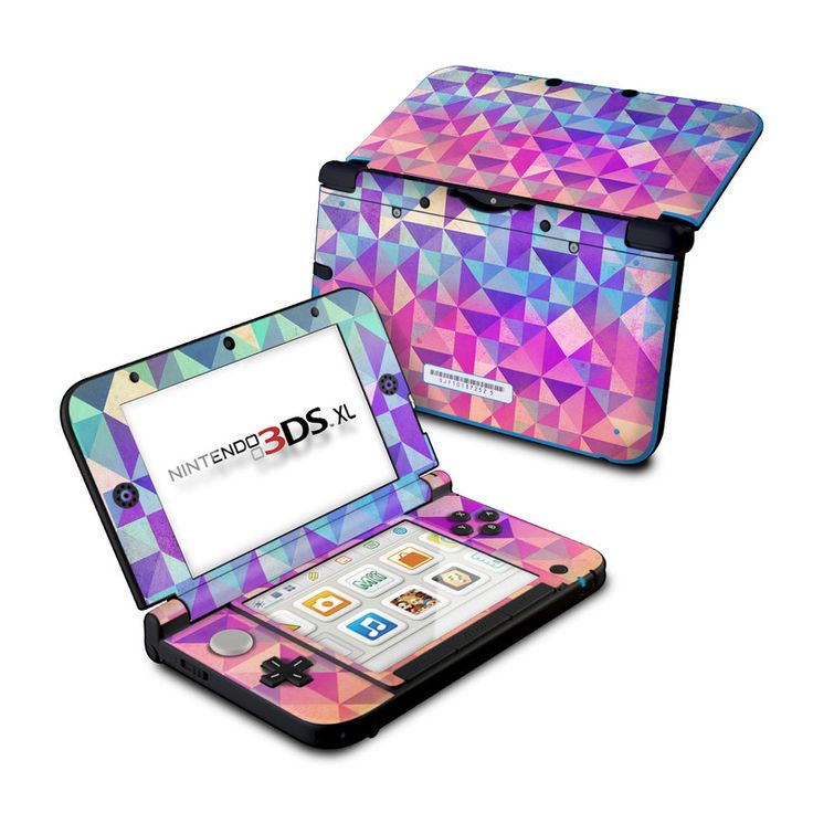 DecalGirl Nintendo 3DS XL skins feature vibrant full-color artwork that helps protect the Nintendo 3DS XL from minor scratches and abuse without adding any bulk or interfering with the device's operation.   This skin features the artwork Fragments by Brooke Boothe - just one of hundreds of designs by dozens of talented artists from around the world.