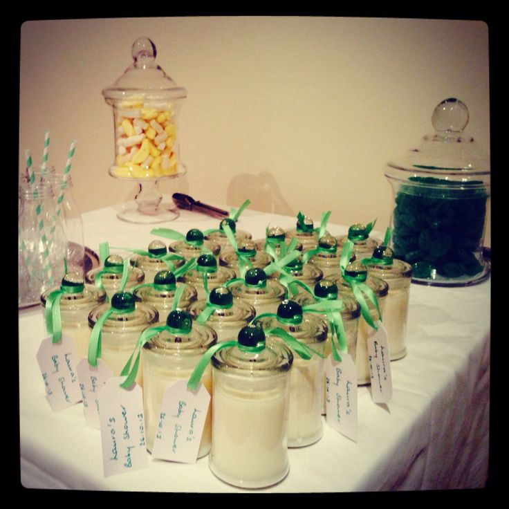 Baby Shower Bombonaire Soy Candles