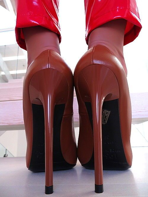 LEDER PUMPS 1969 ITALY BEST IN WORLD X57 PIGALLE LEATHER SKY HIGH HEELS 35-44
