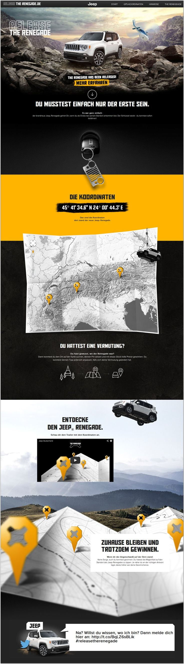 Jeep Renegade #ui #interface #web