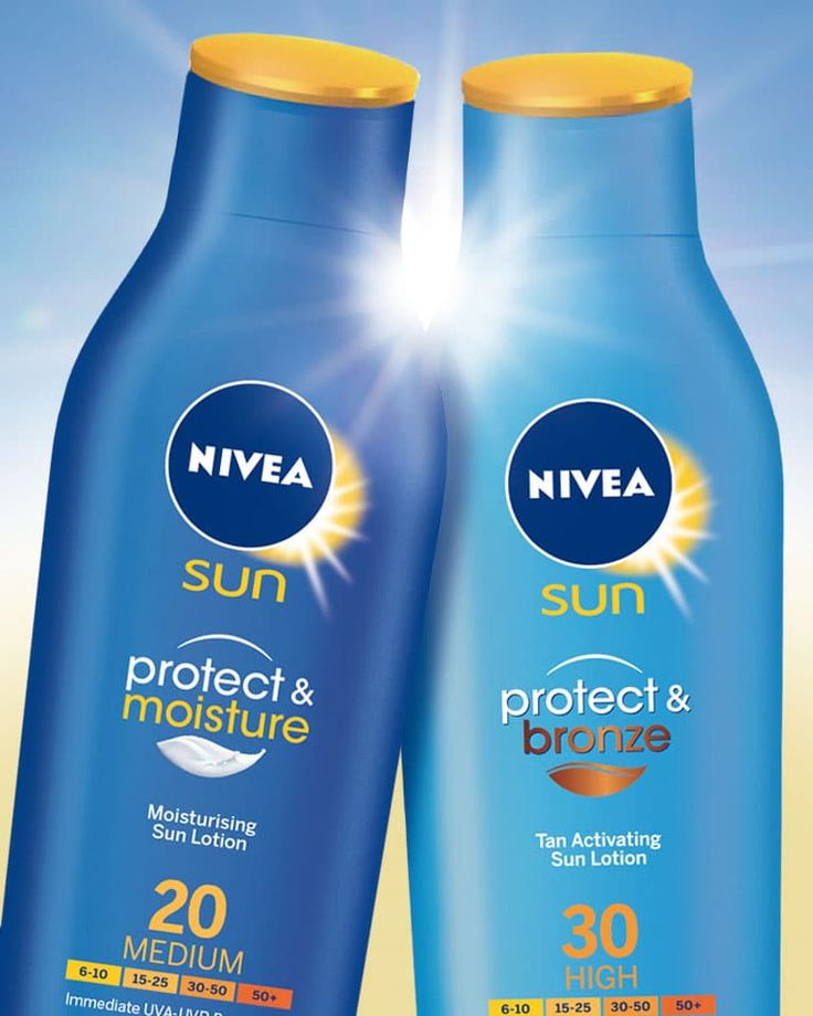 NIVEA Sun Packaging Design