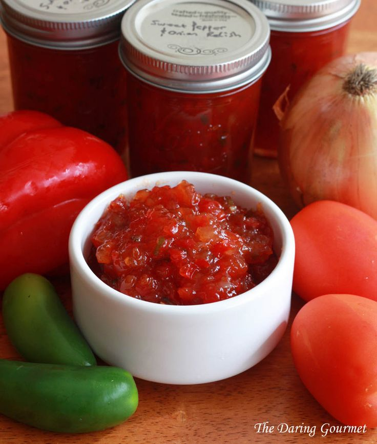 A copycat recipe of a Harry & David favorite, this Sweet Pepper & Onion Relish is easy to make and so delicious!