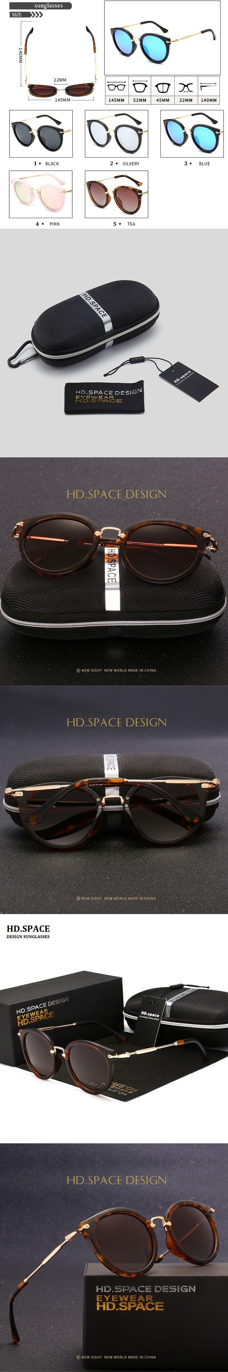 Fashion Vintage Round Sunglasses Women Brand Design Sunglasses Eyeglasses Alloy Legs Shades Lunettes de soleil LM027