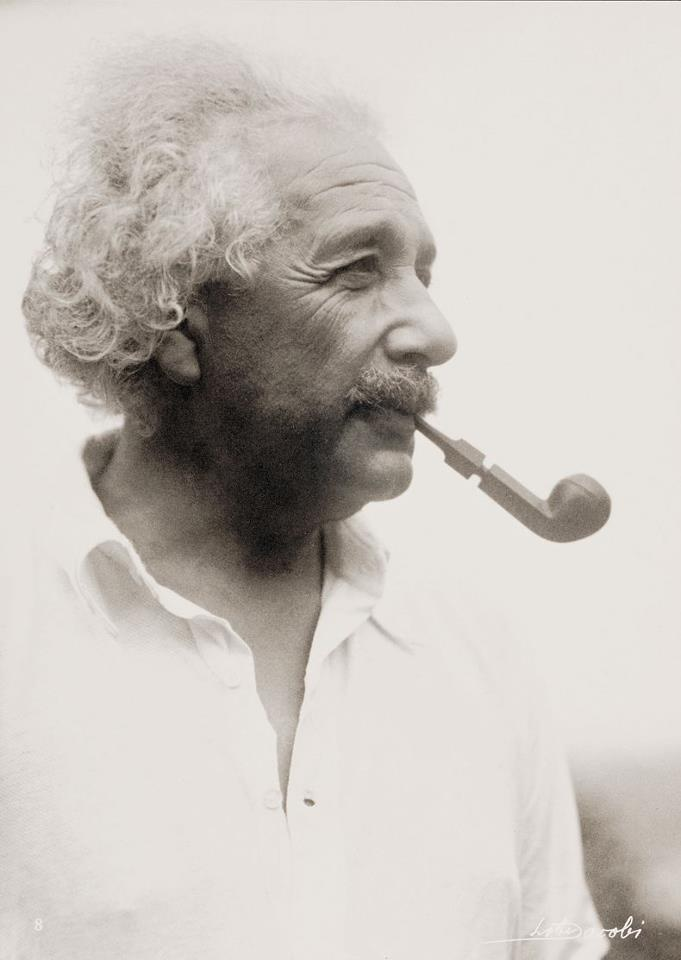 """""""I believe that pipe smoking contributes to a somewhat calm and objective judgement in all human affairs."""" - Albert Einstein, 1950"""