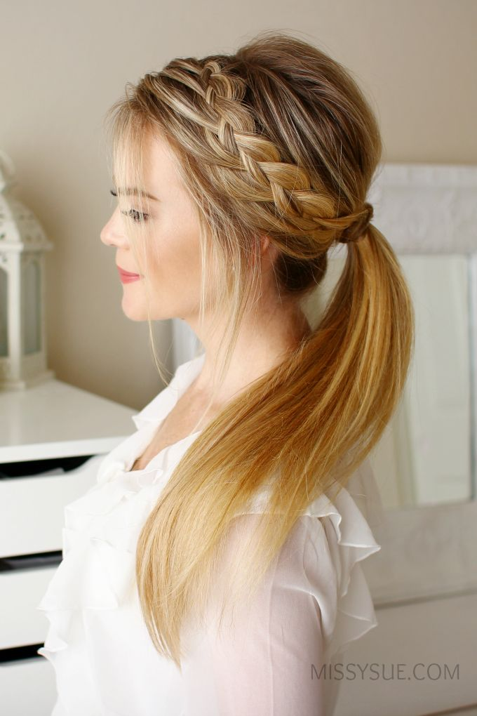 the 25+ best peinado trenza diadema ideas on pinterest | diadema