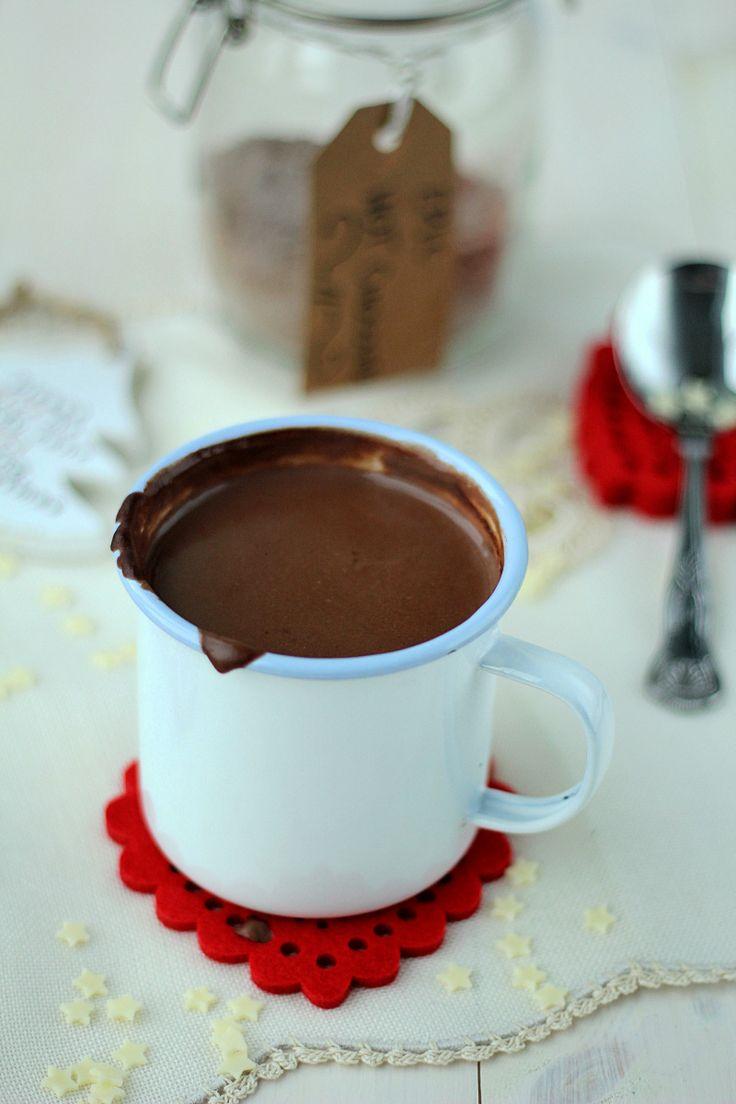 Domowa gorąca czekolada...