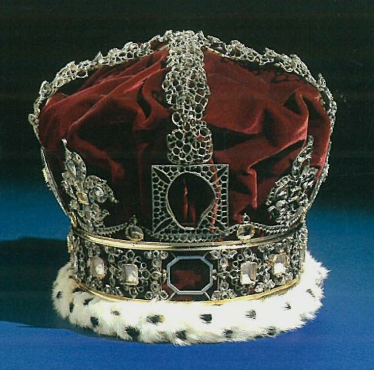 Imperial State Crown of Queen Victoria, in the Jewel Tower (1838)