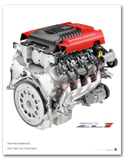 Camaro ZL1 LSA 6.2L V8 SC