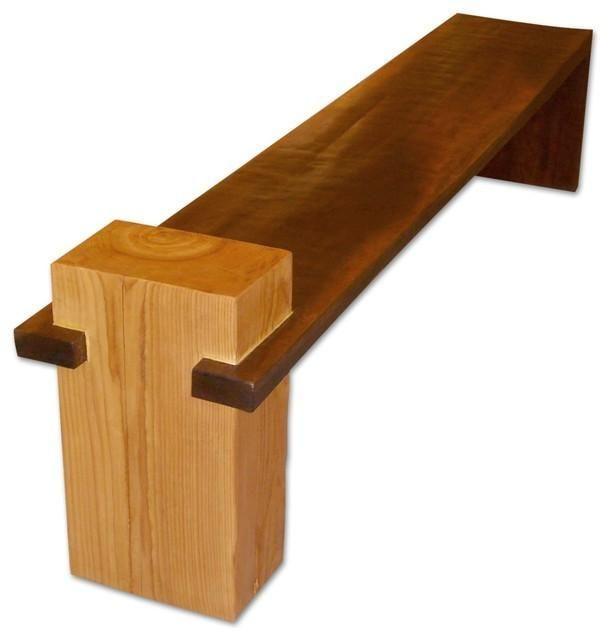 Handgefertigte Massivholzbank Aus Einer Einzigen Platte Aus Walnussholz Und With Images Wood Furniture Design Solid Wood Furniture Wood Diy