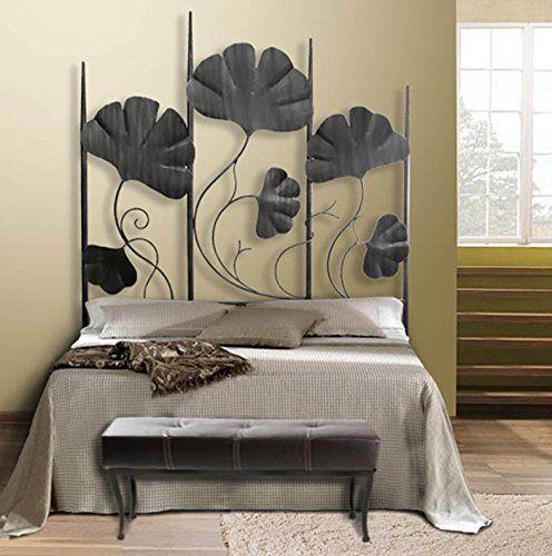 T tes de lit en fer forg mod le palmeira decoraci n beltr n - Lit fer forge 160x200 ...