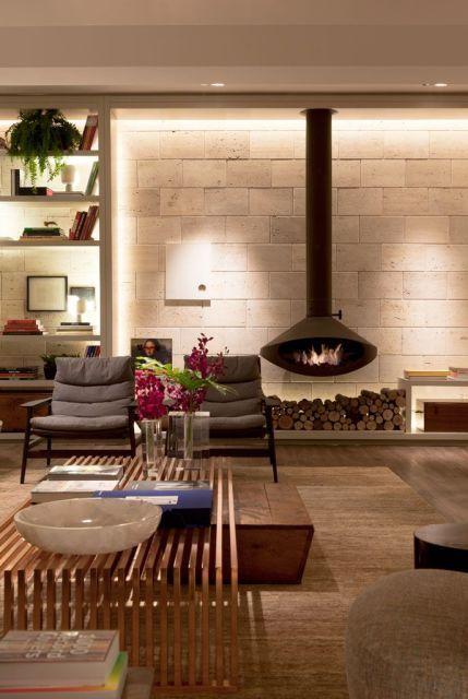 Dicas e inspirações para você ter sua lareira moderna