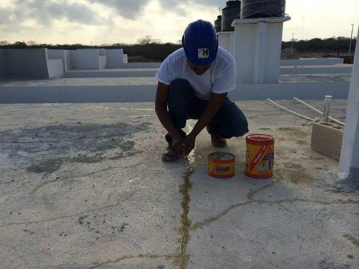 Reparaci n de grietas en losas de concreto con sikadur 52 - Losas para terrazas ...