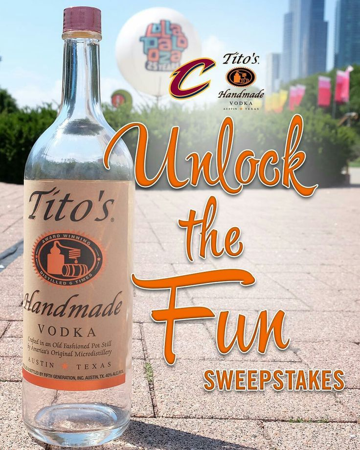 It's almost time for Spring Break – which means summer is right around the corner! ☀️😎 Go to cavs.com/titos to unlock the fun with @TitosVodka -- You could win @Lollapalooza tickets, a grill, or a Cavs prize pack!
