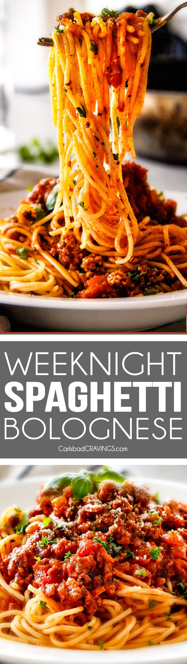 Slow Cooker: 30 Minute Weeknight Spaghetti Bolognese - Carlsbad...