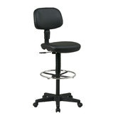 Found it at Wayfair - Height Adjustable Drafting Chair with Dual Wheel
