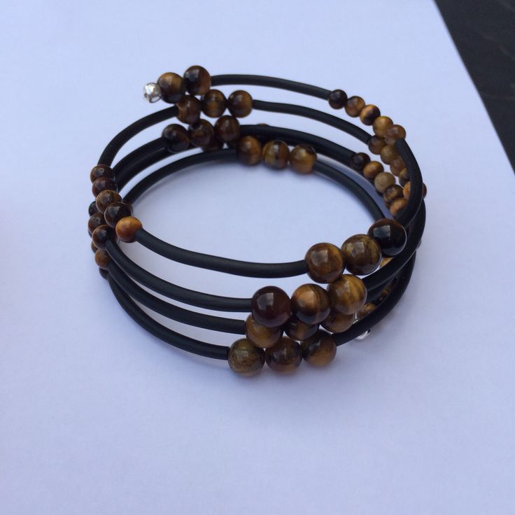Golden Tiger eye gemstone wrap Available to purchase £5 Message me if interested