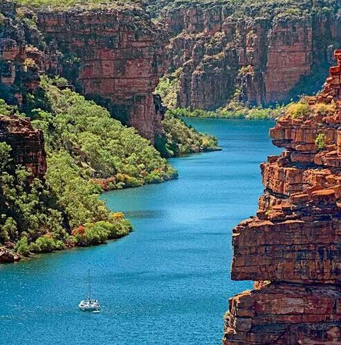 The beautiful Kimberley Coast in Australia #kimberleycoast #travel #bucketlist #australia #auroraexpeditions